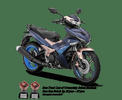 Spesifikasi, Fitur, serta Warna Yamaha MX King 150 Douxo