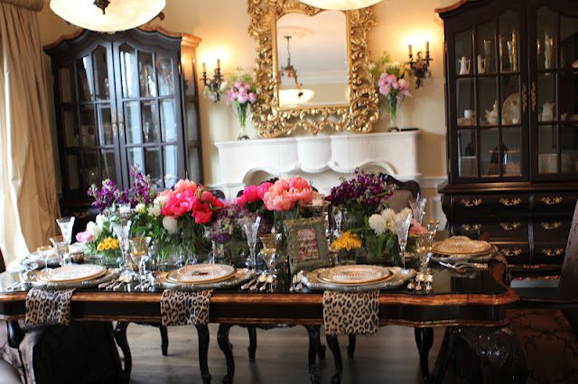 Romancing The Home Luncheon In A French Flower Shop