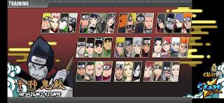 Naruto Senki Full Karakter dan sudah No Cooldown