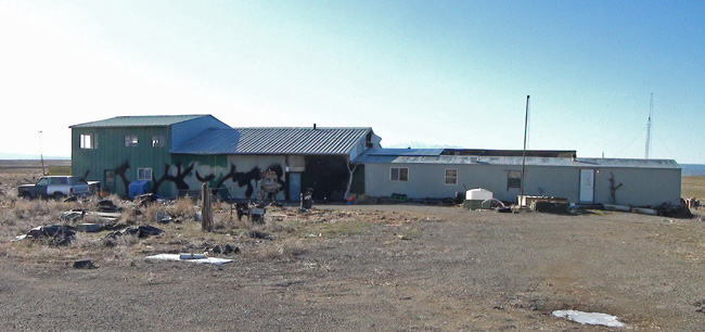 Abandoned Home in Cisco Utah ghost town