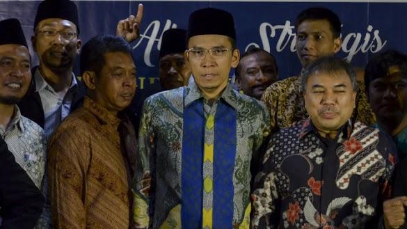 Reaksi TGB Dituding Dukung Jokowi karena Berkasus di KPK