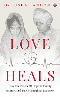 Love Heals - Self-Help book by Usha Tandon - book promotion sites