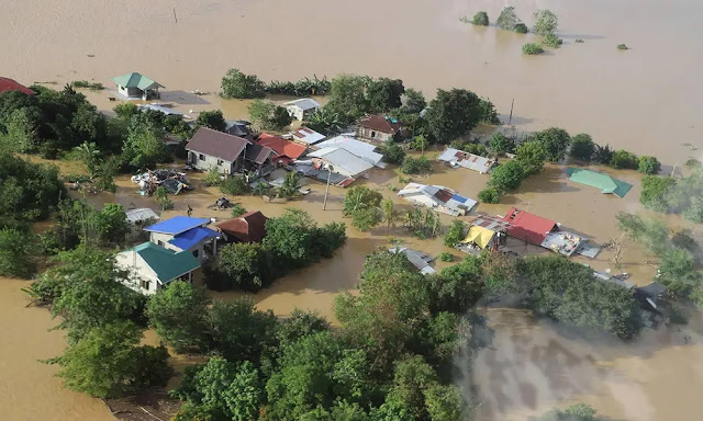 Parts of the northern Philippines suffered their worst floods in more than four decades. Photo taken in 2020 when super typhoon Vamco made landfall in this country in November 2020. Source: VCG
