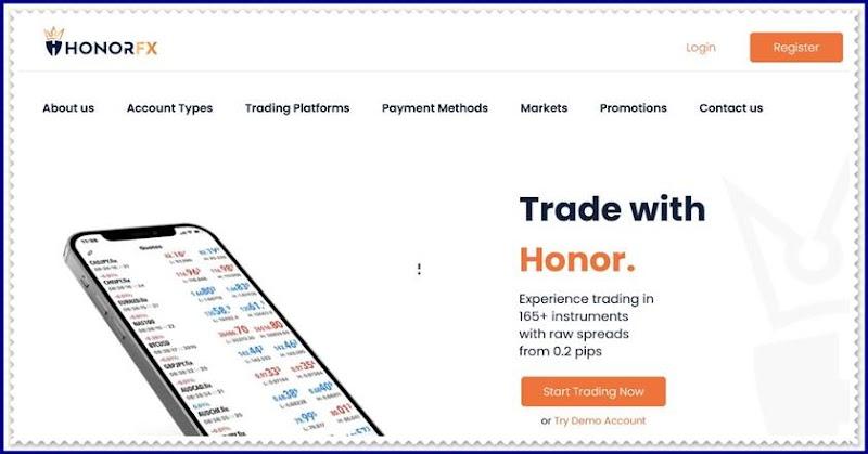 Мошеннический сайт honorfx.com – Отзывы, развод! Компания Honor Capital Markets Limited мошенники
