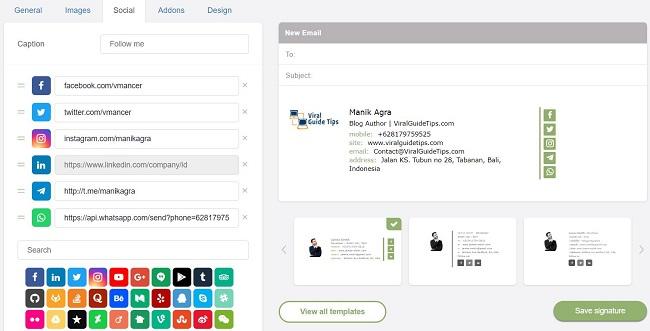 MySignature.io - email signature