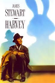 Harvey movie poster w/ Jimmy Stewart