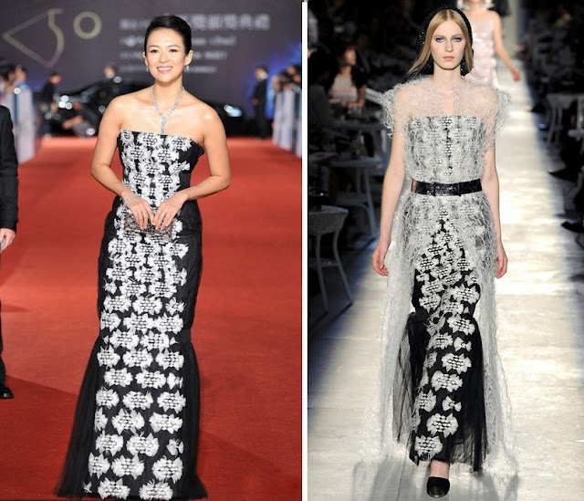 Zhang Ziyi in Chanel Couture – 50th Golden Horse Awards
