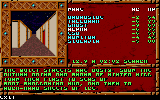 The CRPG Addict: Treasures of the Savage Frontier