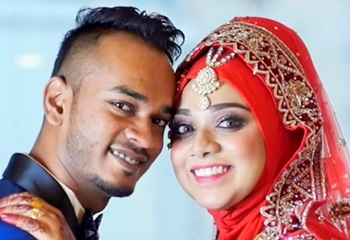 Indian Muslim Wedding Reception Highlight of Mhashud & Nisaa