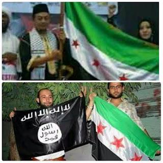 Dalam Film Hayya Ada Adegan Menyertakan Bendera Pemberontak Suriah?