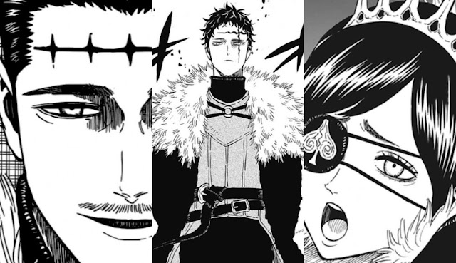 Black Clover Manga: Who Are The Dark Triad | The Anime Podcast