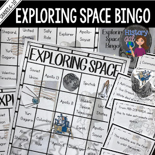 https://www.teacherspayteachers.com/Product/Exploring-Space-Bingo-1230345