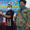 LSM Penjara PN Depok Bagikan Serbuk Pembasmi Jentik Nyamuk