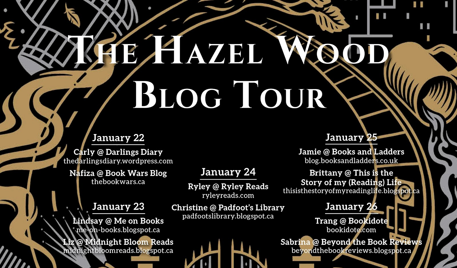Don't forget to swing by other tops of the blog tour to check out more  content from other book bloggers and more Q&As with Melissa.