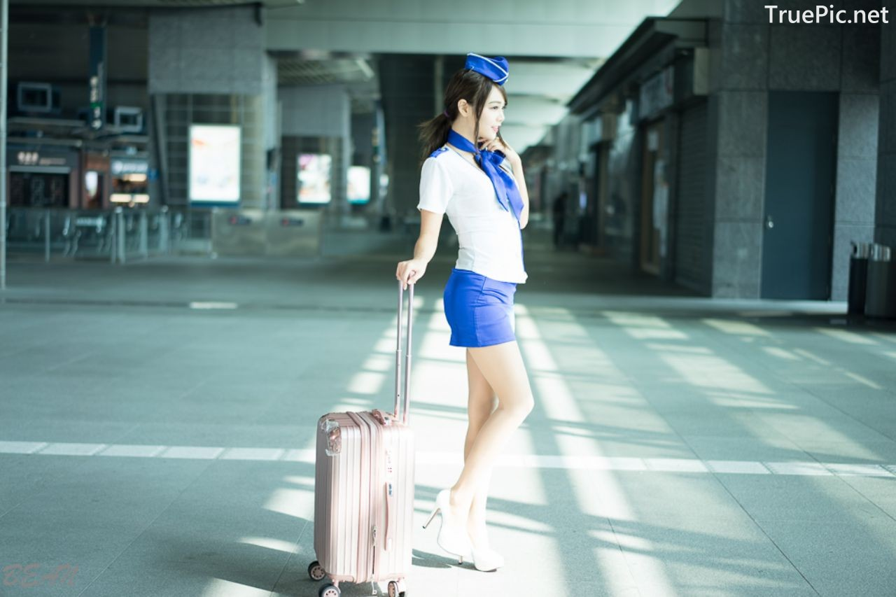 Image-Taiwan-Social-Celebrity-Sun-Hui-Tong-孫卉彤-Stewardess-High-speed-Railway-TruePic.net- Picture-4