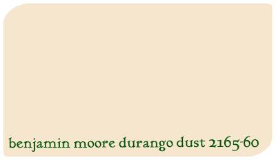 benjamin moore durango dust