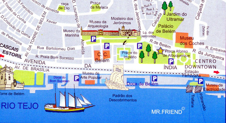 belem lisboa mapa Espaço Espelho d'Água, um bom lugar para almoçar em Belém, Lisboa  belem lisboa mapa