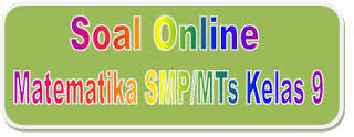 Gambar soal online matematika kelas 9 SMP