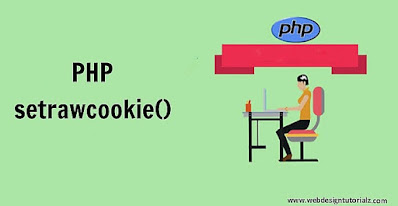 PHP setrawcookie() Function