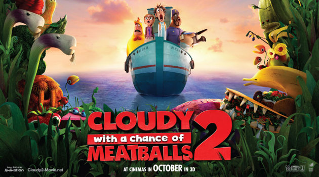 Cloudy with a Chance of Meatballs 2 (2013) sinopsis cover poster