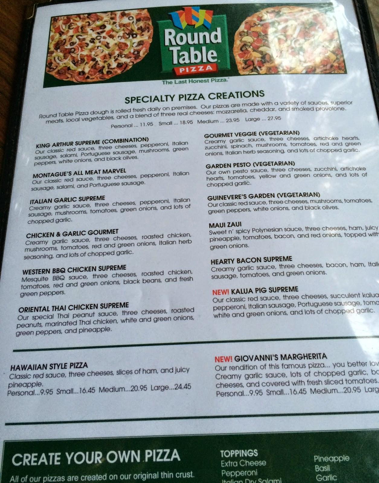 TASTE OF HAWAII: ROUND TABLE PIZZA WAIKIKI