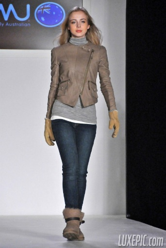 e41585609b2 EMU Australia, known for their water resistant sheepskin boots, held their  first ever runway show during New York Fashion Week on February 17th at  STYLE360 ...
