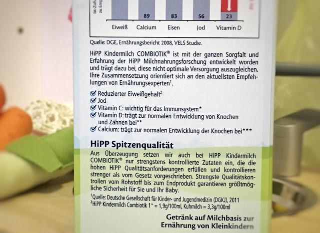 HiPP Kindermilch als Kuhmilchersatz für 7 Mal mehr Vitamin D