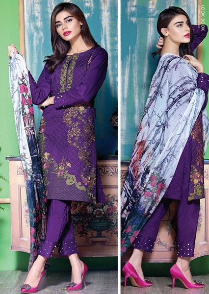 Bonanza Satrangi Cmbric Collection 2016-17