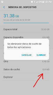 liberar memoria en mi celular