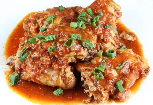 Pollo all arrabbiata for All about italian cuisine