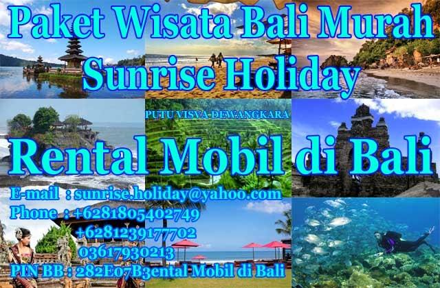 Paket Wisata Bali Tour Murah