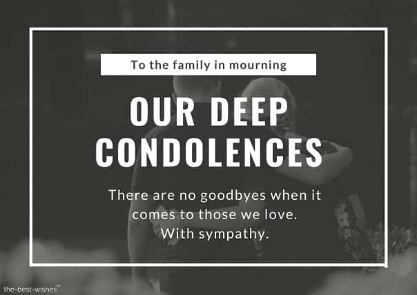 condolences messages for loss of mother