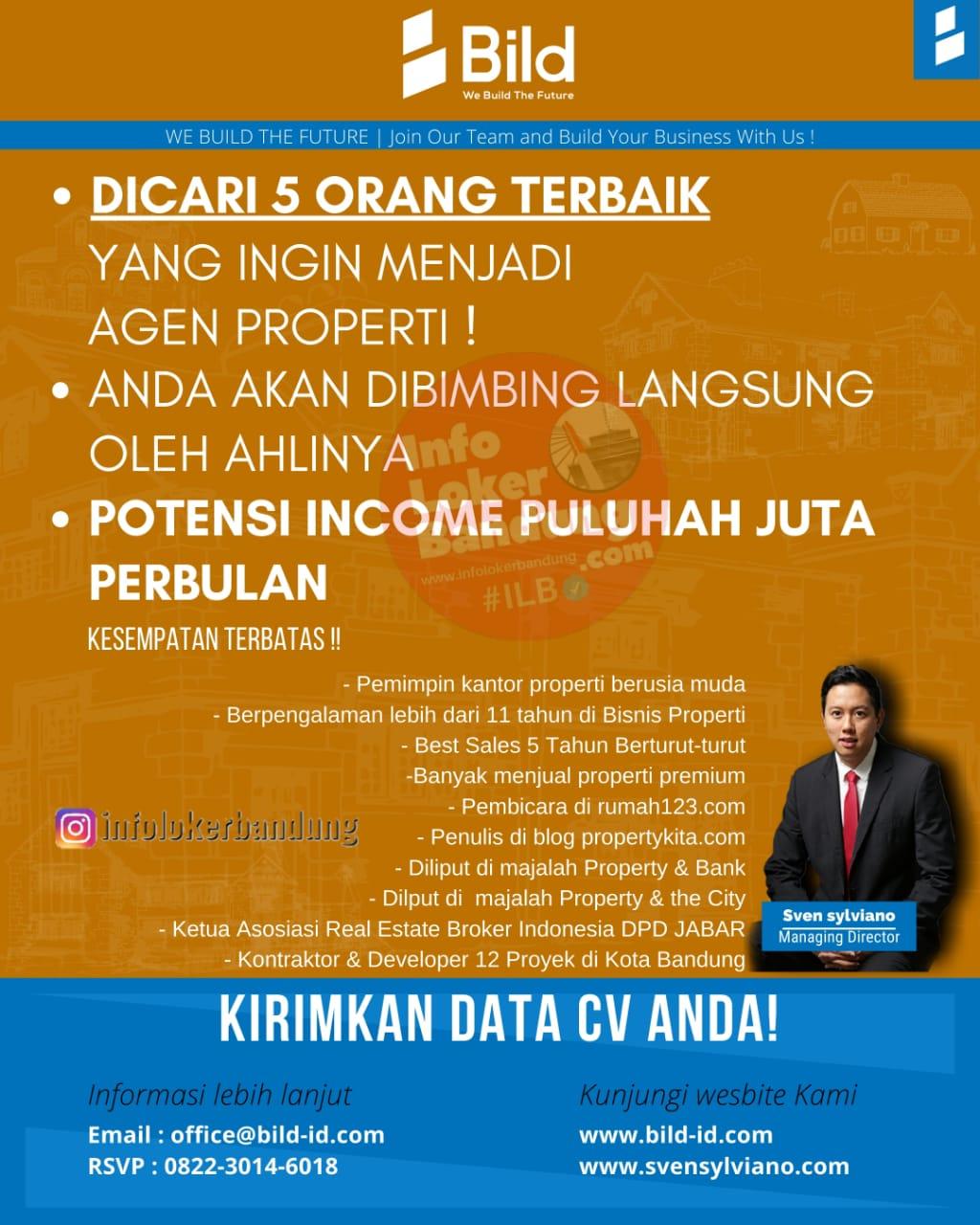 Lowongan Kerja Bild Bandung Januari 2021