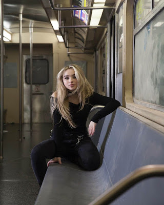 pose sentada en el tren