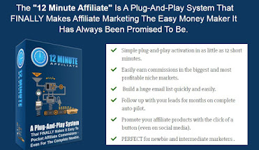 Affiliate Marketing easy .because all you really have to do is send website visitors to a product that someone else created and whe