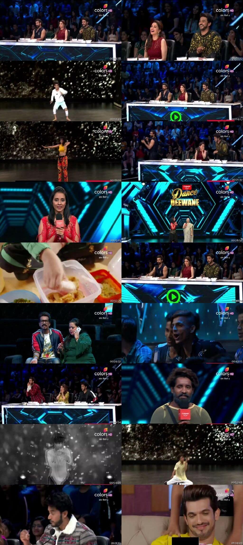 Screenshots Of Hindi Show Dance Deewane 2 23rd June 2019 Episode 04 300MB 480P HD