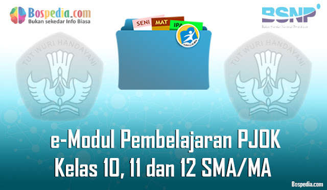 e-Modul Pembelajaran e-PJOK (Pendidikan Jasmani Olahraga dan Kesehatan) Kelas 10, 11 dan 12 SMA/MA