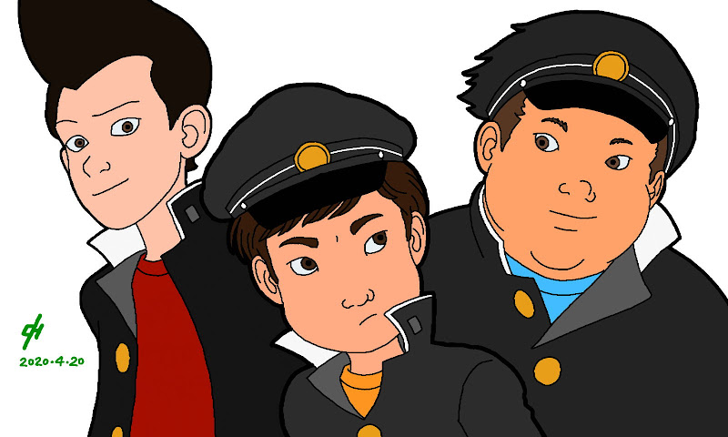 Hajime's gang