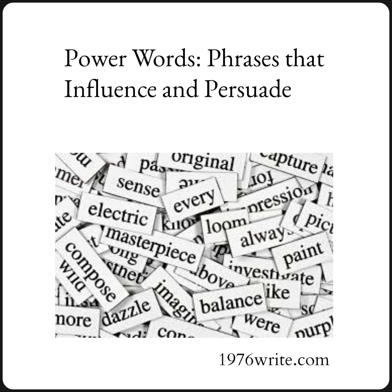 presuasive word phrases Knowing words, phrases and the right arguments to use to be convincing can be a big help when your child is writing a persuasive essay learn more.