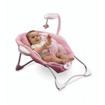 save on toys fisher price butterfly pink papasan seat. Black Bedroom Furniture Sets. Home Design Ideas
