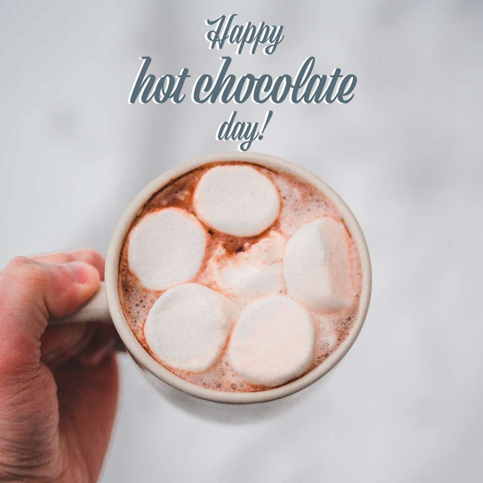 National Hot Chocolate Day Wishes for Instagram
