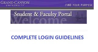 GCU Student Portal