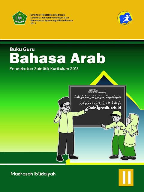 buku guru mata pelajaran bahasa arab untuk kelas 2 madrasah ibtidaiyah