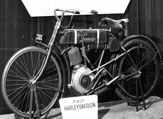 Harley-Davidson 1903-1904 side A