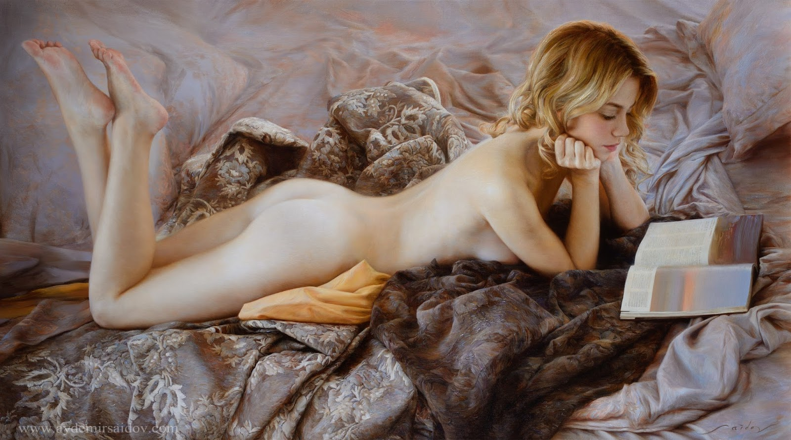 Hyperrealistic Oil Paintings by Aydemir Saidov - Where to rest (2014)