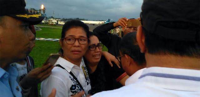 VIDEO: Isak Tangis Sambut Kedatangan Jenazah Korban Penembakan OPM di Makassar