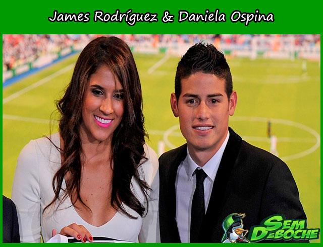 James Rodríguez & Daniela Ospina