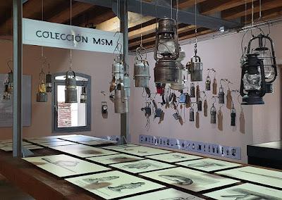 Museo de la Siderurgia y la Minería, Sabero, León, Lámparas mineras