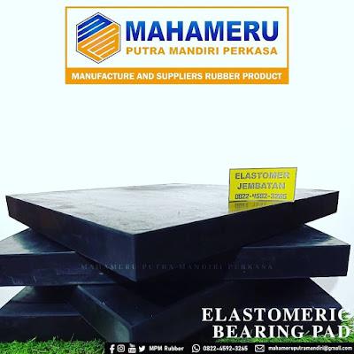 Elastomer Bearing Pad / Karet Bantalan Jembatan