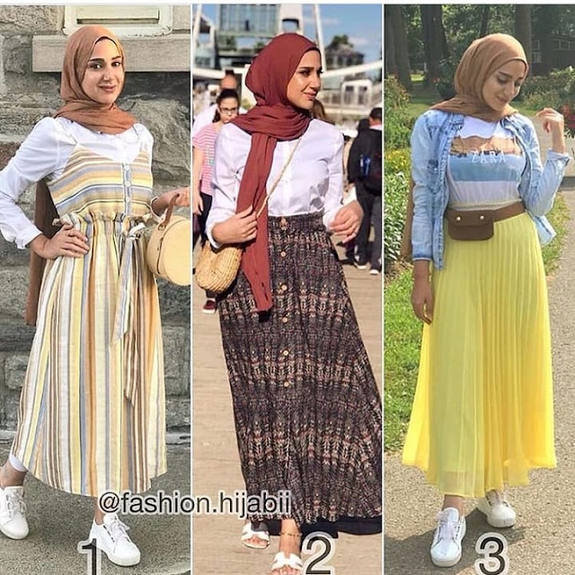 2019 Beautiful Hijab Fashion Styles